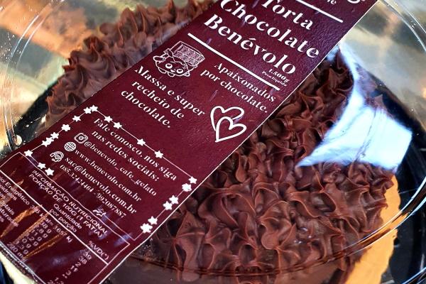 Torta Chocolate Benévolo Media e Grande